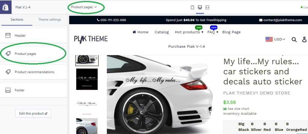 How to remove Quantity selector from product page?