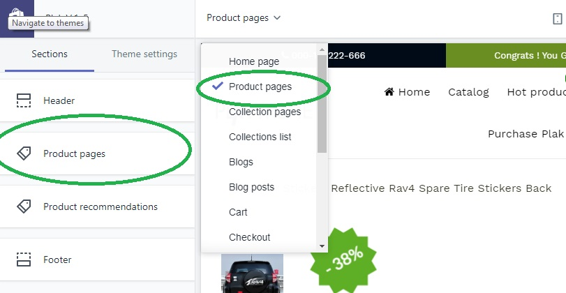 How to edit/remove SKU and ISBN from Shopify product page?