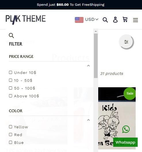 sticky add to cart plak mobile